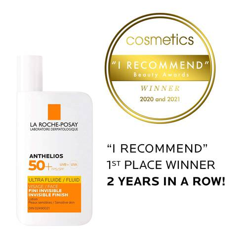 Anthelios Ultra-Fluid SPF 50+ Facial Sunscreen