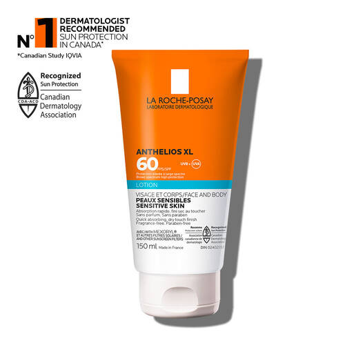 Anthelios Lotion SPF 60 Sunscreen for Face & Body
