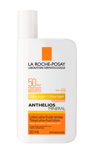 Anthelios MINERAL  Lotion ultra-fluide teintée FPS 50