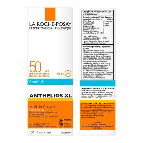 ANTHELIOS XL MELT-IN CREAM FOR FACE & BODY