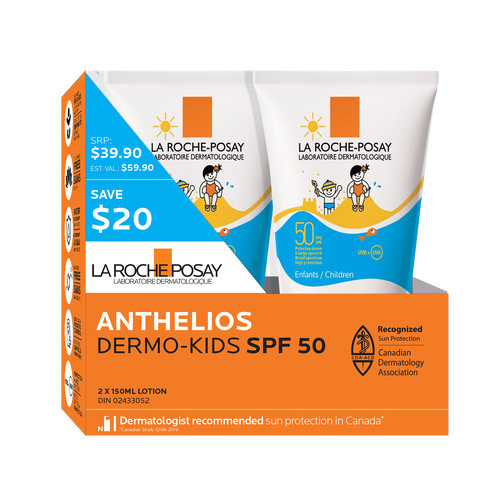 Coffret Anthelios Dermo-Kids Lotion FPS 50