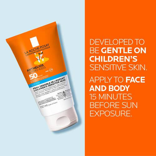 ANTHELIOS DERMO-KIDS LOTION SPF 50 FOR FACE & BODY