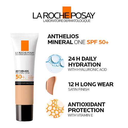 Anthelios Mineral One SPF 50+ Tinted Facial Sunscreen