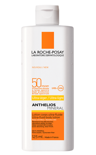 ANTHELIOS MINERAL LOTION CORPS ULTRA-FLUIDE FPS 50