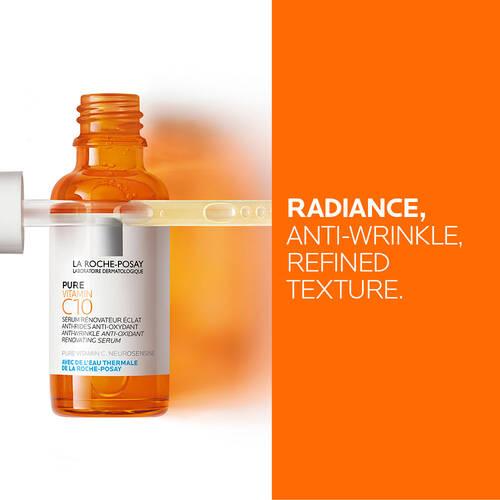 Radiance, anti-wrinkle, refined, texture