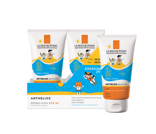 Anthelios Duo SPF50 Kids 150ml Kit