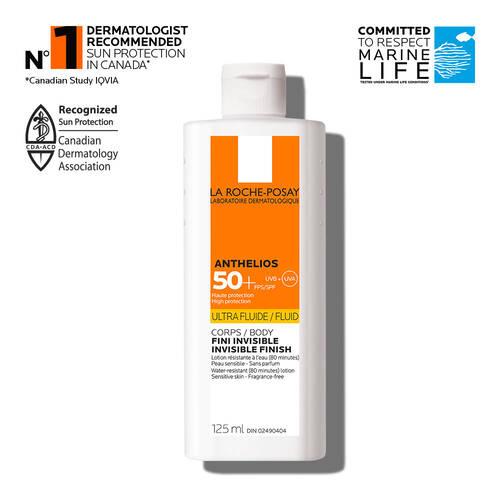 Anthelios Ultra-Fluid SPF 50+ Body Sunscreen