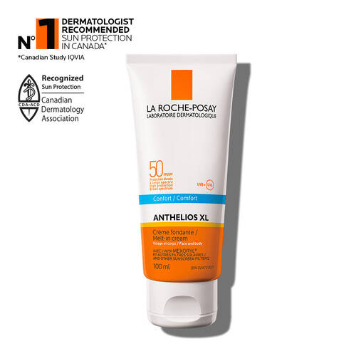 Anthelios XL Hydrating Melt-in Cream Suncreen SPF 50 For Face & Body