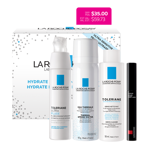 REACTIVE AND ALLERGIC SKIN GIFT SET - TOLERIANE ULTRA FLUID