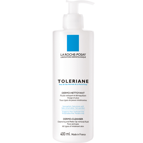 Toleriane Fluide Dermo-Nettoyant 400ml