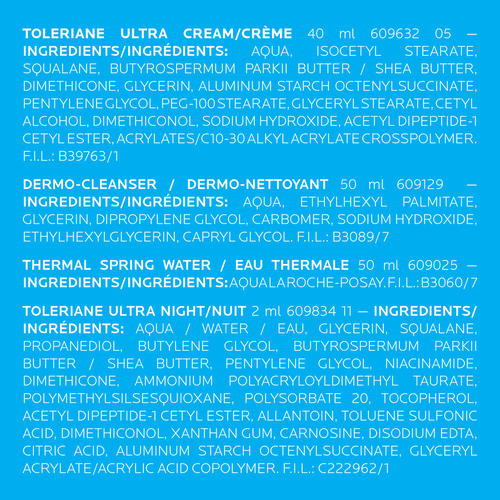 Coffret Toleriane Ultra Crème