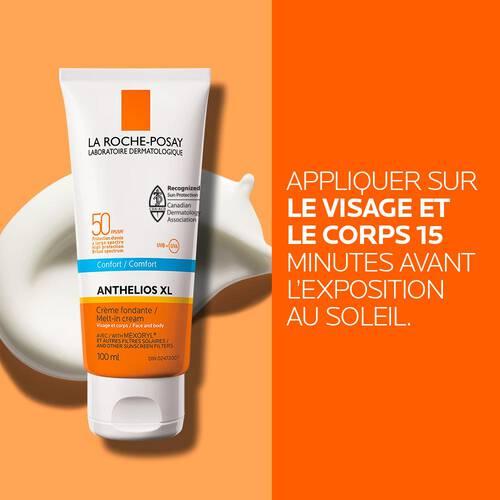 Anthelios XL FPS 50 Crème Fondante pour Visage et Corps