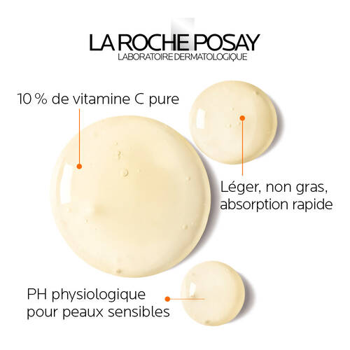 10% pure vitamin c, light Non-Greasy Fast Absorbing, Physiological pH for Sensitive skin