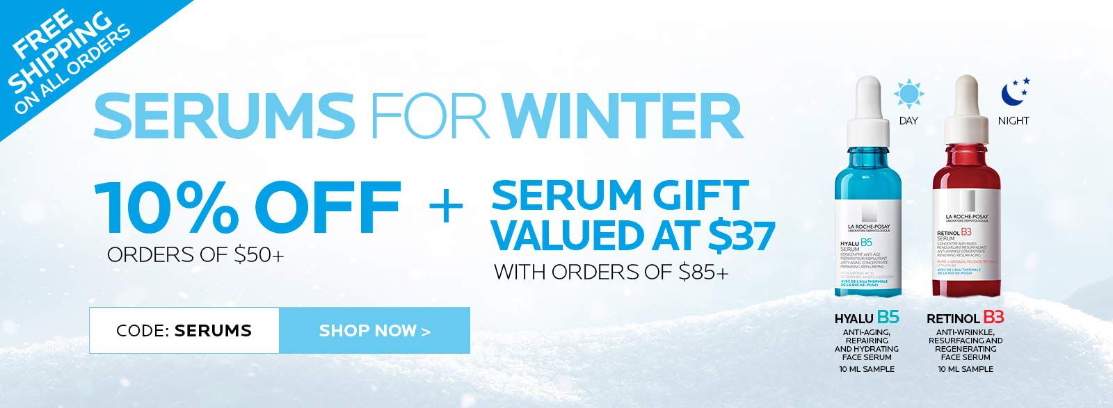 SERUMS FOR WINTER