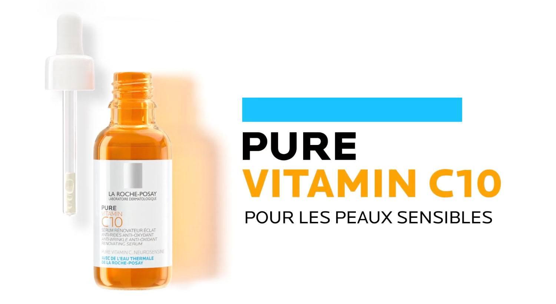 Pure vitamin C10 pour les peaux sensibles