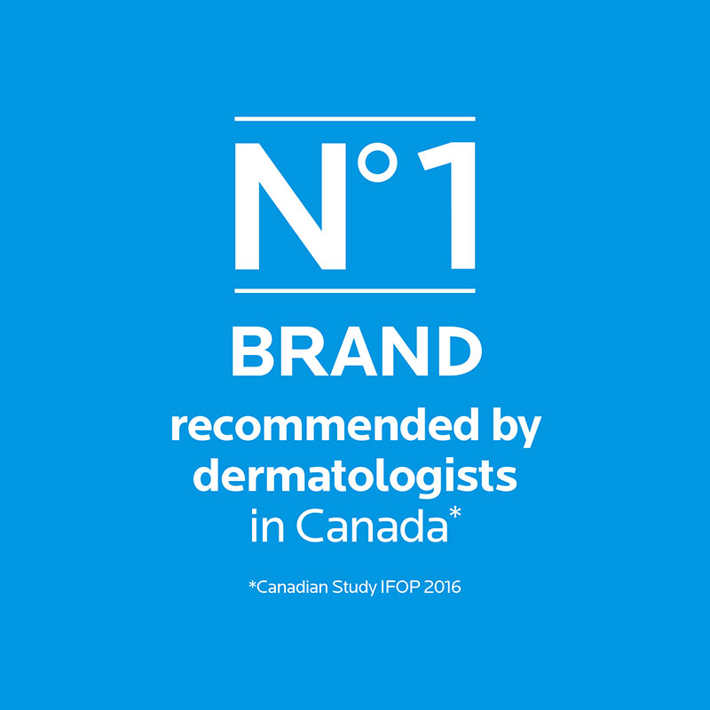 no 1 brand recommended by dermatologists in Canada