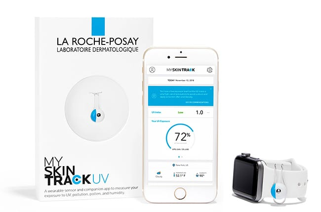 A wearable sensor and companion app to measure your exposure to uv, pollution, pollen & humidity.