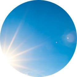 UV RAYS ARE PRESENT