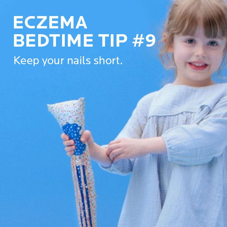 Eczema tip. Keep your nails short