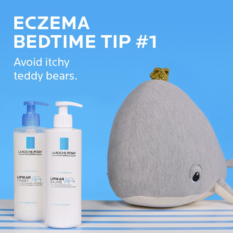 Eczema tip. Avoid itchy teddy bears